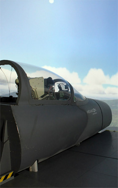 Aircraft simulation