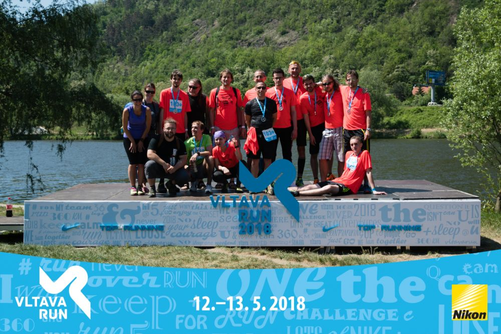 Vltava run - great success of our employees